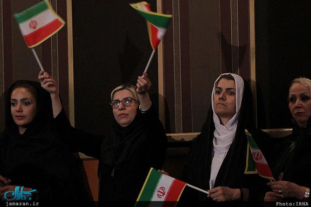همایش انتخاباتی محمد باقر قالیباف در تهران