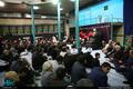 مراسم عزاداری هیئت پیروان پیر جماران و وداع با پیکر آیت الله العظمی راستی کاشانی در حسینیه جماران