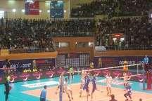 جوانان والیبال ایران با اقتدار به مرحله نیمه نهایی صعود کردند