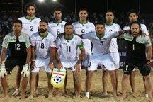 هشت بوشهری عازم رقابت های فوتبال ساحلی بین قاره ای شدند