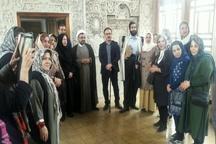 بازدید معتمدین و اهالی محله زعفرانیه تهران از میراث فرهنگی کرج