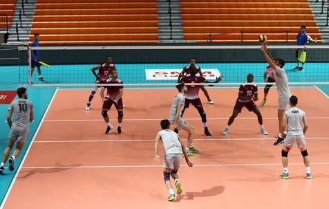 پیروزی تیم ملی والیبال ایران برابر تایپه در جام کنفدراسیون ها