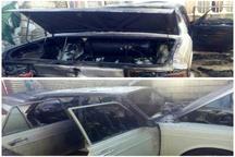 آتشسوزی خودرو در شهرستان دزفول 2 مصدوم برجای گذاشت