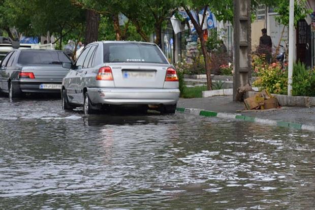 آبگرفتگی 22 نقطه شهر اصفهان رفع شد