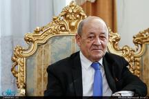 وزیر خارجه فرانسه راهی ایران شد