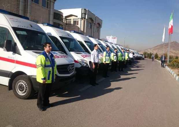 آمبولانسهای جدید در ناوگان اورژانس خراسان رضوی فعال شدند
