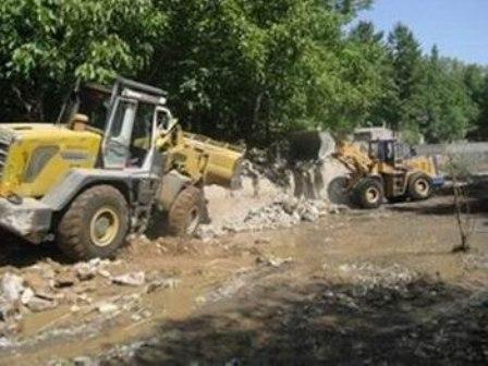 رفع تصرف 187 هکتار از اراضی حریم و بستر رودخانه های کردستان
