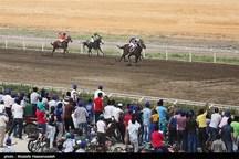 هفته نخست مسابقات اسبدوانی بهاره کشور در گنبدکاووس برگزار شد