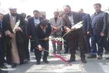 استاندار قزوین به مقام شامخ شهدای بوئین زهرا ادای احترام کرد