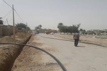 چهار هزار متر از شبکه فرسوده آب شهر باشت اصلاح شد