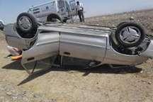 واژگونی خودرو در سبزوار پنج مصدوم برجای گذاشت
