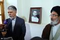 بازدید وزیر فرهنگ و ارشاد اسلامی از بیت و زادگاه حضرت امام در خمین