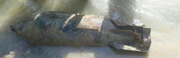 بمب جنگی در پلدختر + عکس
