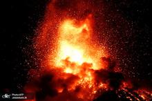 فعال ترین آتشفشان آمریکای مرکزی هزاران نفر را فراری داد+ عکس