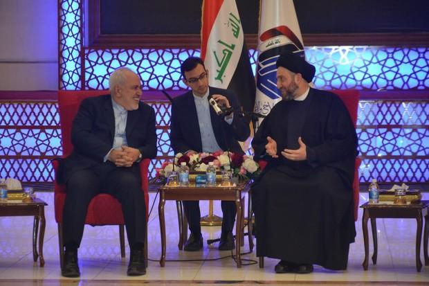 عمار حکیم در دیدار با ظریف: تحریم ها عراق را به تقویت روابط با ایران مصمم تر می کند