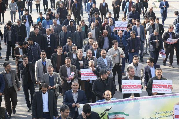 حضور کمسابقه مردم در راهپیمایی ۱۳ آبان بیانگر بصیرت آنهاست