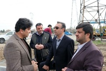 غفاری از پروژههای عمرانی فردیس بازدید کرد