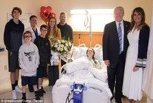 عکس جنجالی ترامپ و همسرش