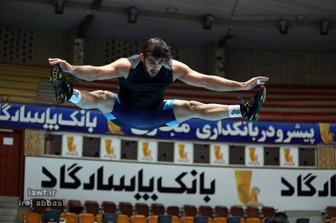 محمدحسین محمدیان پس از 4 سال روی تشک کشتی باز می گردد