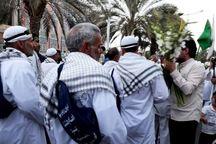 بافقیها به استقبال کاروان پیاده امام رضا (ع) رفتند