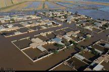 """امدادرسانی به روستای غرق شده """"پرنوشته""""مسجد سلیمان  انجام شد"""