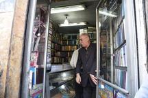 چراغ قدیمی ترین کتابفروشی شیراز دو باره روشن شد