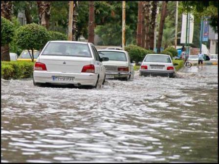 پیش بینی وقوع سیلاب و آبگرفتگی از هفته آینده در فارس