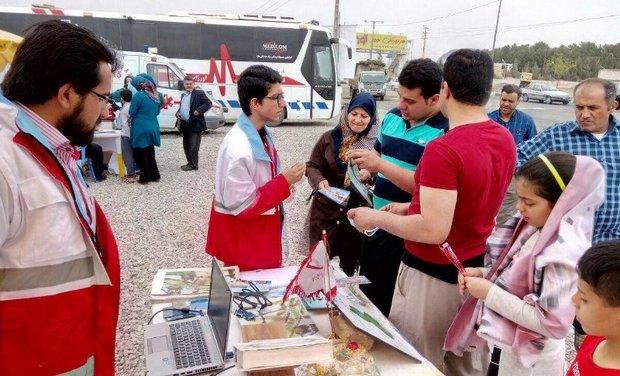 236 هزار مسافر توسط هلال احمر یزد راهنمایی شدند