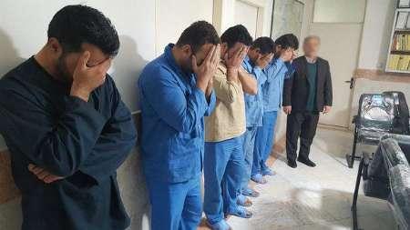 8 آدم ربا در شهرستان دماوند دستگیر شدند