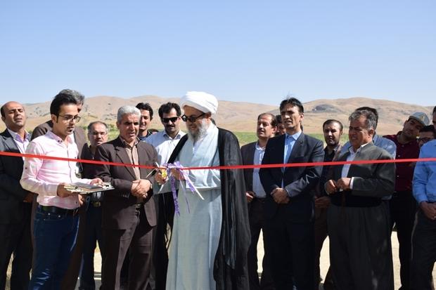 6 پروژه بخش کشاورزی در کامیاران به بهره برداری رسید