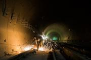 ریزش آوار کارگاه مترو در مولوی