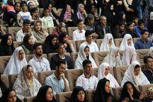 آیین  ازدواج 50 زوج جوان در کلاله برگزار شد