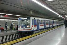 برخورد دو قطار مترو در ایستگاه طرشت 20 مصدوم به صورت سرپایی مداوا شدند