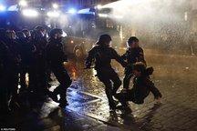 اعتراضات بی سابقه هامبورگ + تصاویر