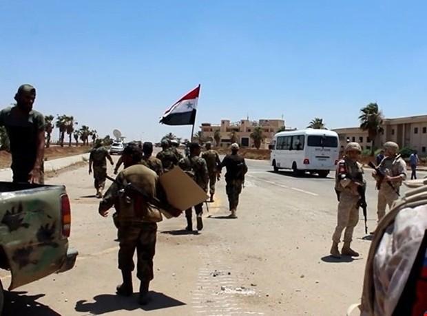 شهر مهم «درعا» در جنوب سوریه به طور کامل آزاد شد