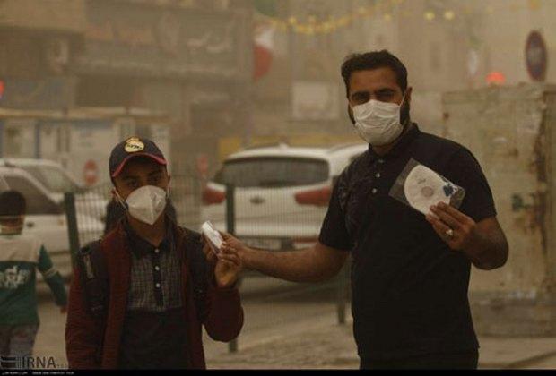 آلودگی هوا 23نفر را در ریگان راهی مراکز درمانی کرد