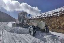 برف راه 40 روستای چالدران را بست  عملیات بازگشایی ادامه دارد