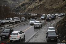 لغزندگی جادههای مازندران  رانندگان با احتیاط حرکت کنند