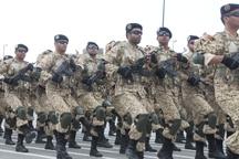 آیین روز ارتش در استان سمنان برگزار شد