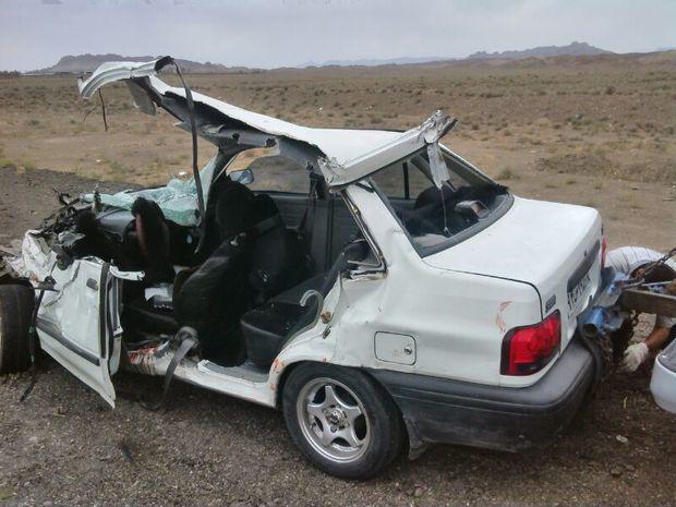 رشد 100 درصدی تصادفات در راه های فرعی قم نگران کننده است