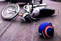 تصادف موتورسوار درگزی را به کام مرگ کشاند