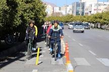 افتتاح 22 کیلومتر مسیر دوچرخه سواری در دهه فجر