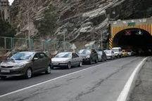 غدیر ترافیکی برای مسیر های وروردی استان مازندران