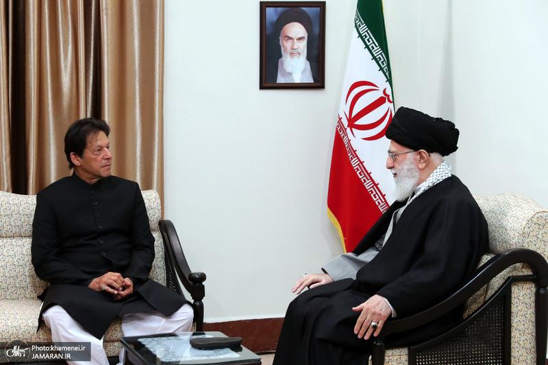 دیدار نخستوزیر پاکستان با رهبر معظم انقلاب