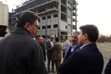بازدید استاندار آذربایجانغربی از روند احداث طرحهای دانشگاه علوم پزشکی در ارومیه