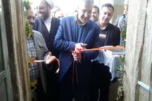 افتتاح 2 طرح عمرانی و نمایشگاه اقتصاد مقاومتی در شهرستان اردستان