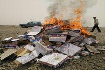 افزون بر 2 تن مواد غذایی فاسد در عنبرآباد معدوم شد