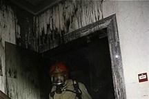 اتصالی برق عامل آتشسوزی در آبادان  آتشسوزی صدمات جانی نداشته است