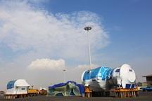 2 دستگاه سنگین 654 تنی در بندر شهید رجایی تخلیه شد
