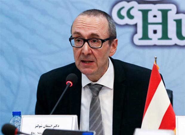 سفیر اتریش: اتحادیه اروپا خواستار گسترش روابط دو جانبه با ایران است